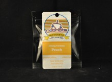 chewables ROBHOTS Edibles - hash rosin peach gummy 100mg