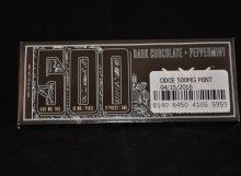 chocolate bars - DIXIE ELIXIRS Dark Chocolate Peppermint 500mg