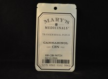 topicals MARY'S MEDICINALS - CBN patch 10mg