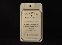 topicals MARY'S MEDICINALS - THCa patch 10mg
